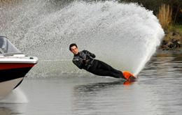 image: water skiing